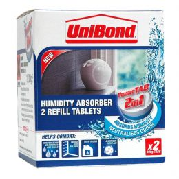 Unibond Small Stand Alone Moisture Trap Absorber Device 1554712 Refills 300g x 2